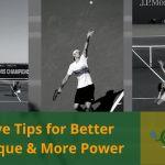 5 Serve Tips Better Technique Power The Tennis Tribe