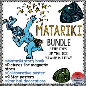 Matariki teaching resource bundle