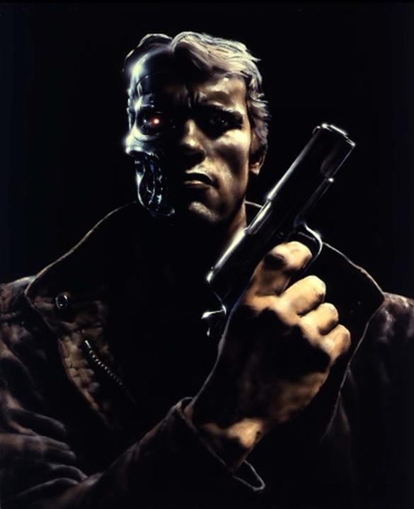 Arnold Schwarzenegger Terminator Concept Art