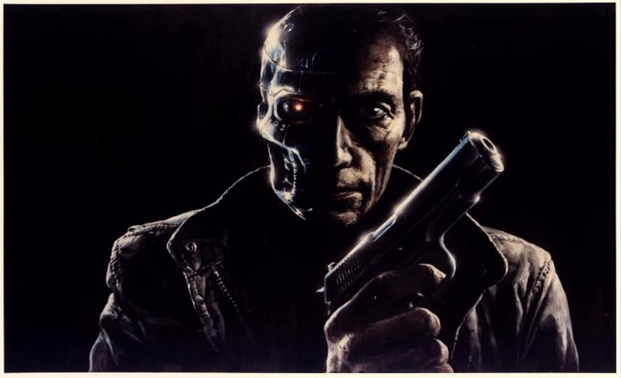 Lance Henriksen Terminator Concept Art