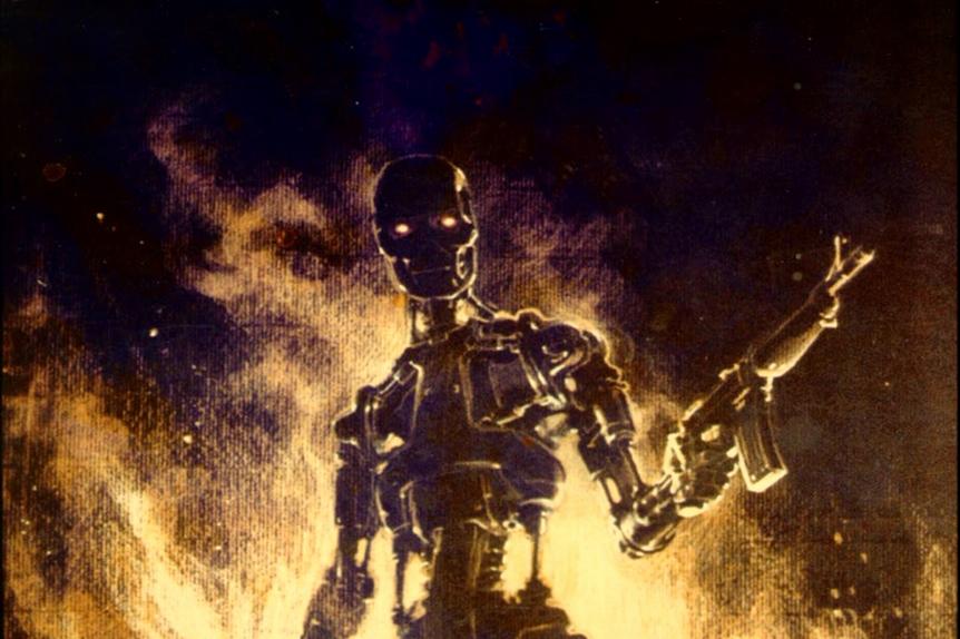 Endoskeleton Concept Art