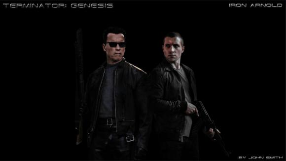 T-800 and Kyle Reese Terminator Genesis Fan Art
