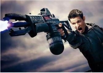 Plasma Rifle Matt Smith Terminator Genisys