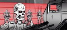 Terminator: Genisys Storyboards