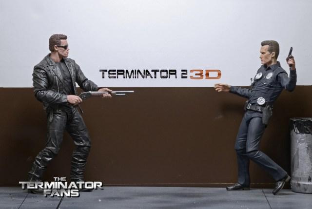 NECA Terminator 2 3D T-800 Figure