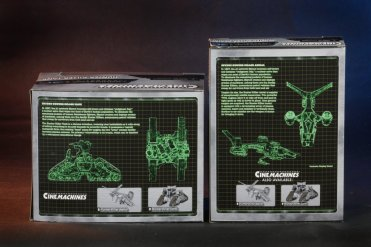 Terminator 2 3D HK Packaging Back