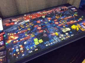 T2029 Terminator 2 Judgment Day Board Game