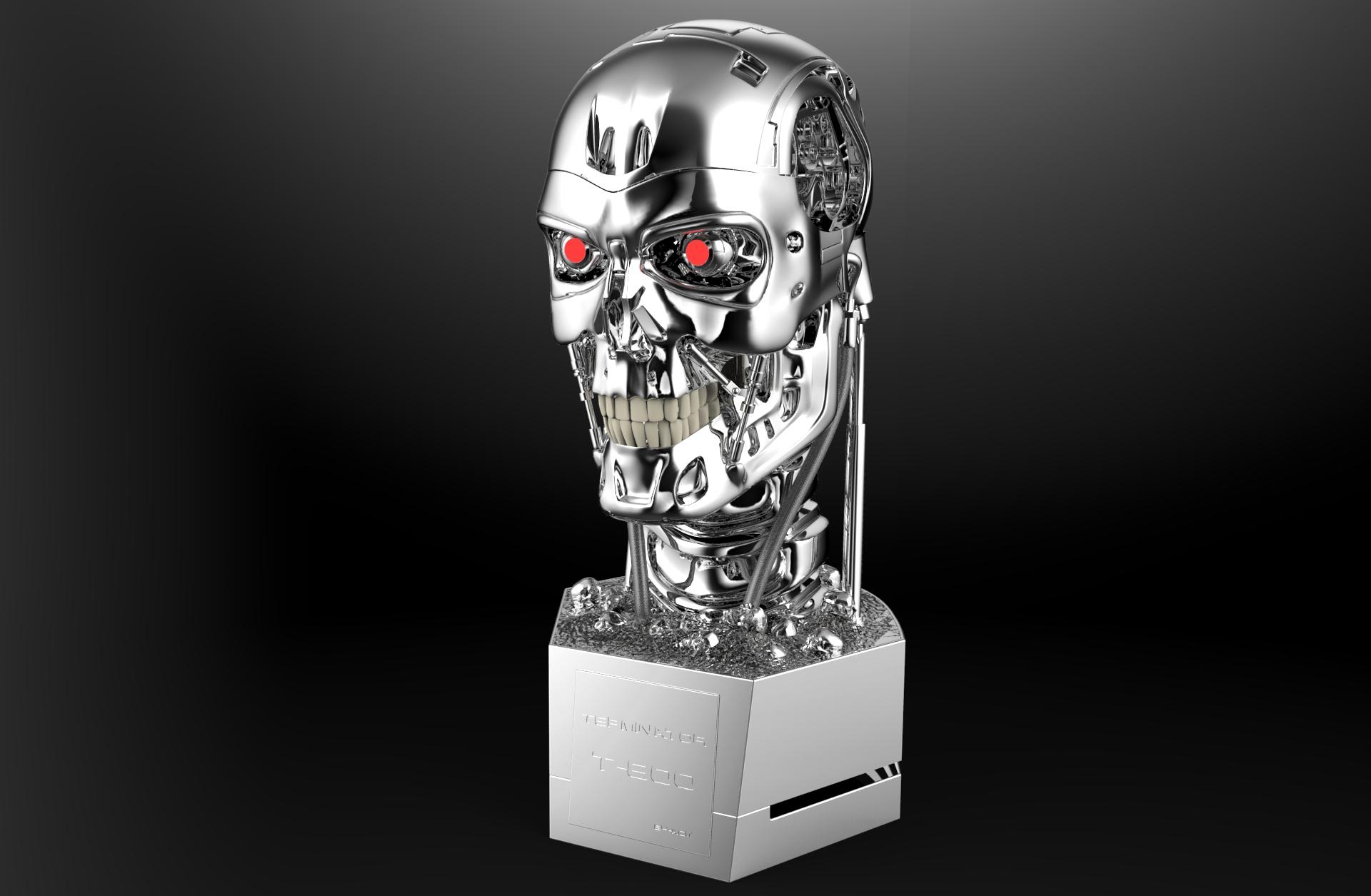 картинка терминатор голова