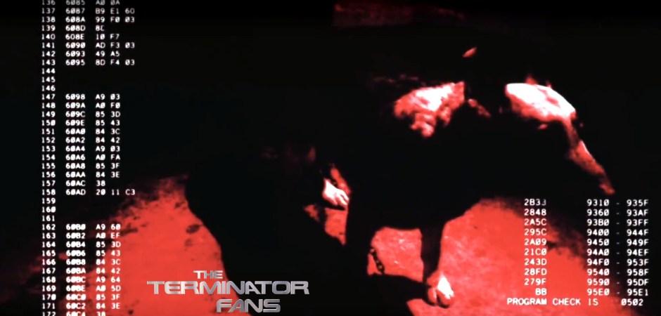 Wolfie James Cameron Terminator Vision