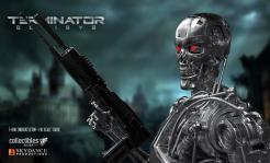 Terminator Genisys T-800 Endoskeleton Statue Silver Fox Collectibles