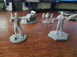 The Terminator Board Game Miniatures