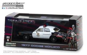 GreenLight Collectibles The Terminator 1977 Dodge Monaco Die-Cast Police Car