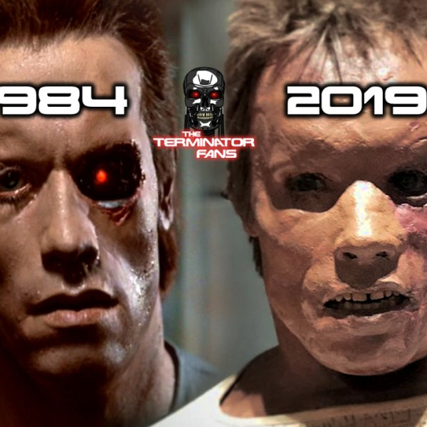 The Terminator Self-Repair T-800 Puppet 35 Years Later