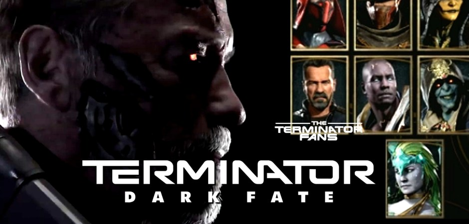 Terminator: Dark Fate Mortal Kombat 11