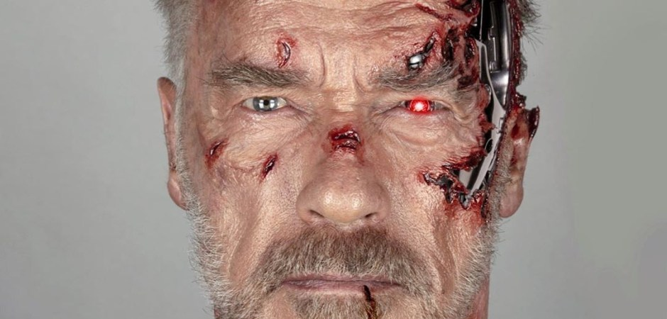 Terminator: Dark Fate Battle Damage Schwarzenegger Trauma Make-Up