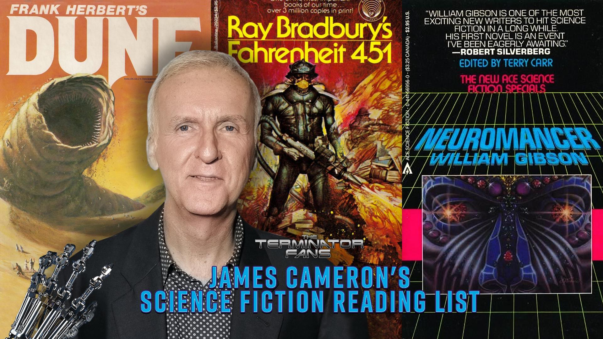 James Cameron's Science Fiction Reading List - Favorite Sci-Fi Novels