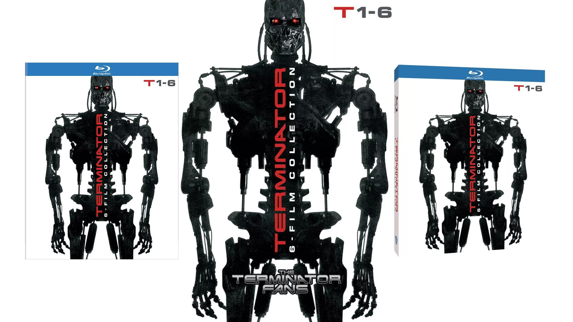 TERMINATOR: 6 Film Collection BLU-RAY + DVD