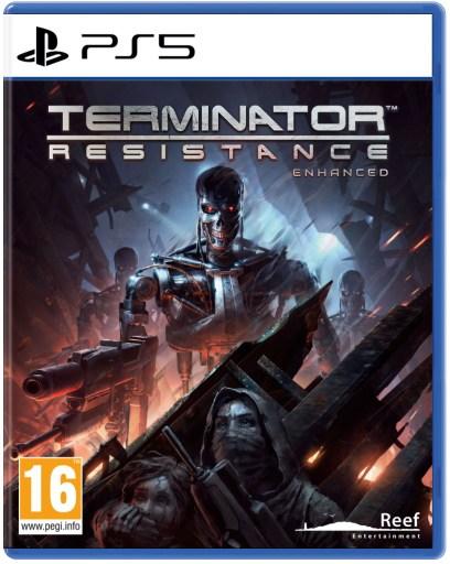 Terminator: Resistance ENHANCED PLAYSTATION 5 PEGI Packshot