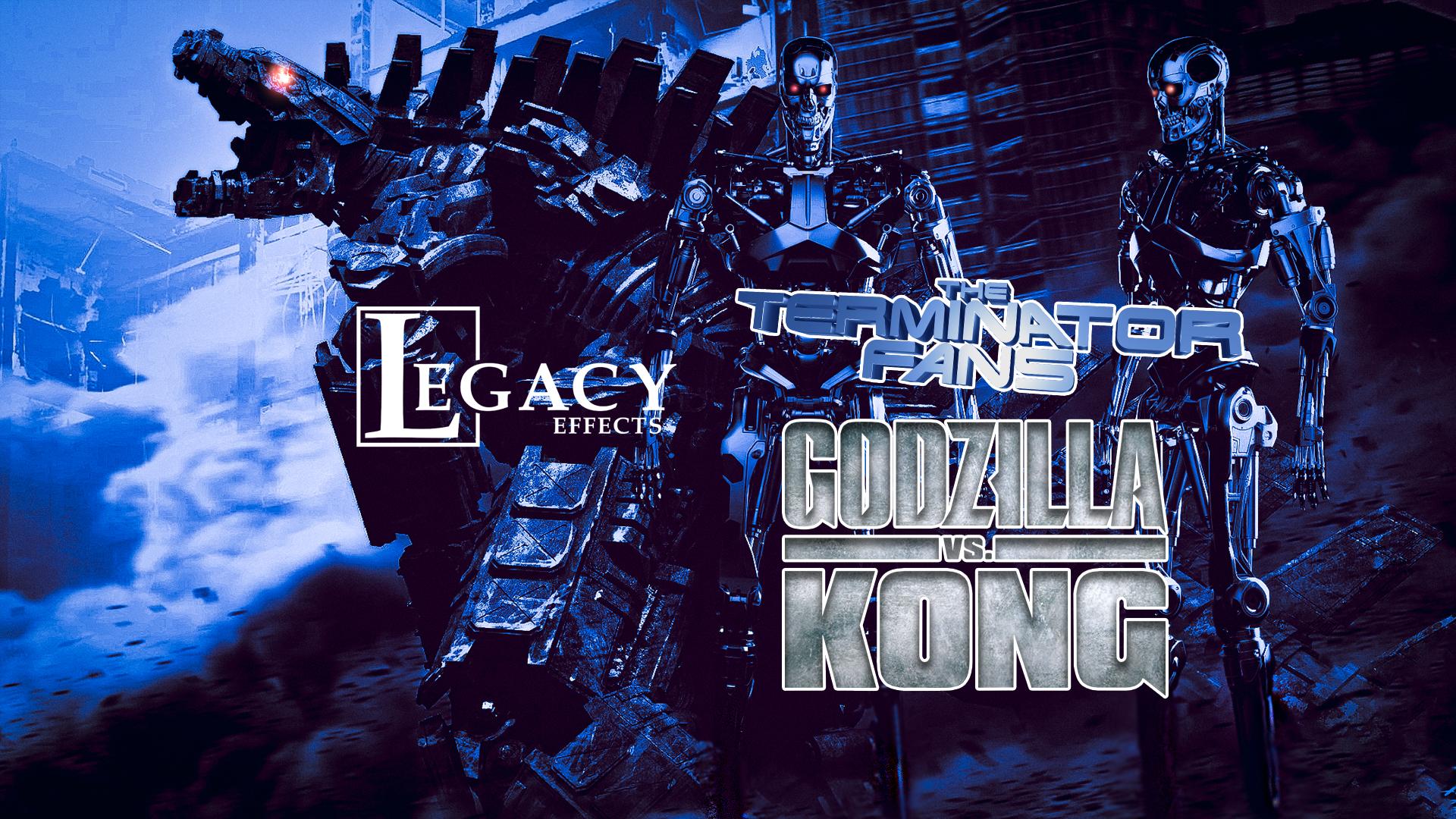 Godzilla Vs Kong Mechagodzilla Inspired by Terminator T-800