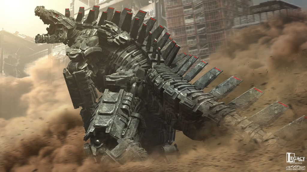 Legacy Effects Mechagodzilla by Jared Krichevsky - Godzilla Vs Kong