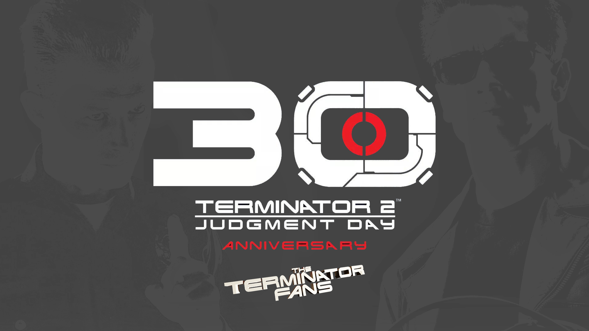 Terminator 2: Judgment Day 30th Anniversary Logo by STUDIOCANAL
