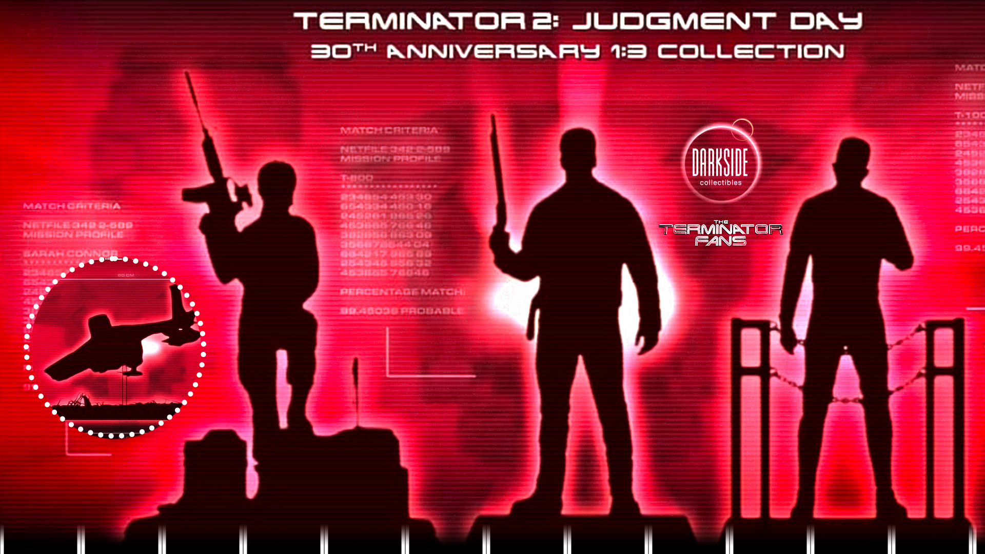 T2 Judgment Day 30th Anniversary Collection Darkside Collectibles Studio (Terminator)