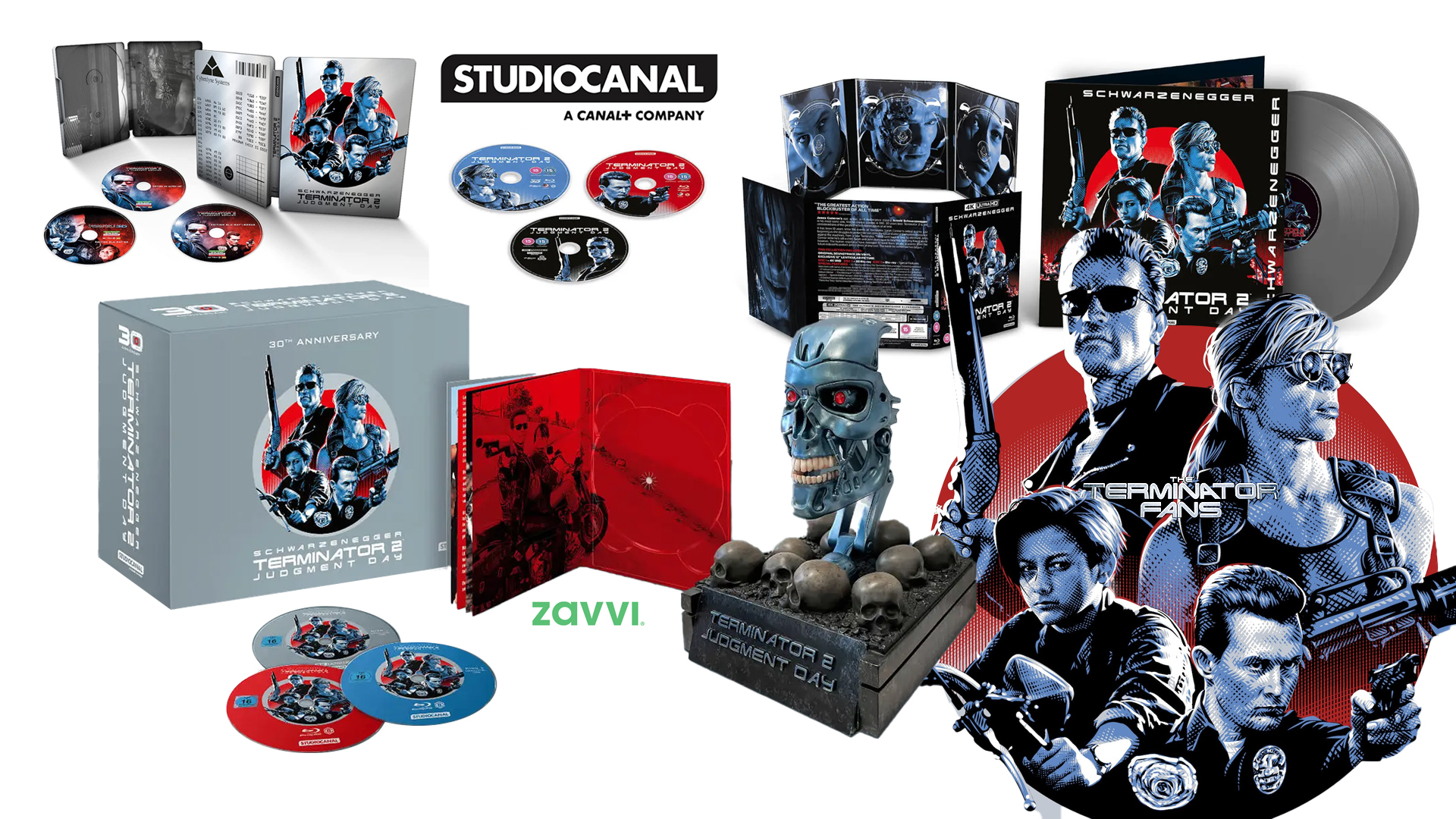 Terminator 2: Judgment Day 30th Anniversary Collector's Editions