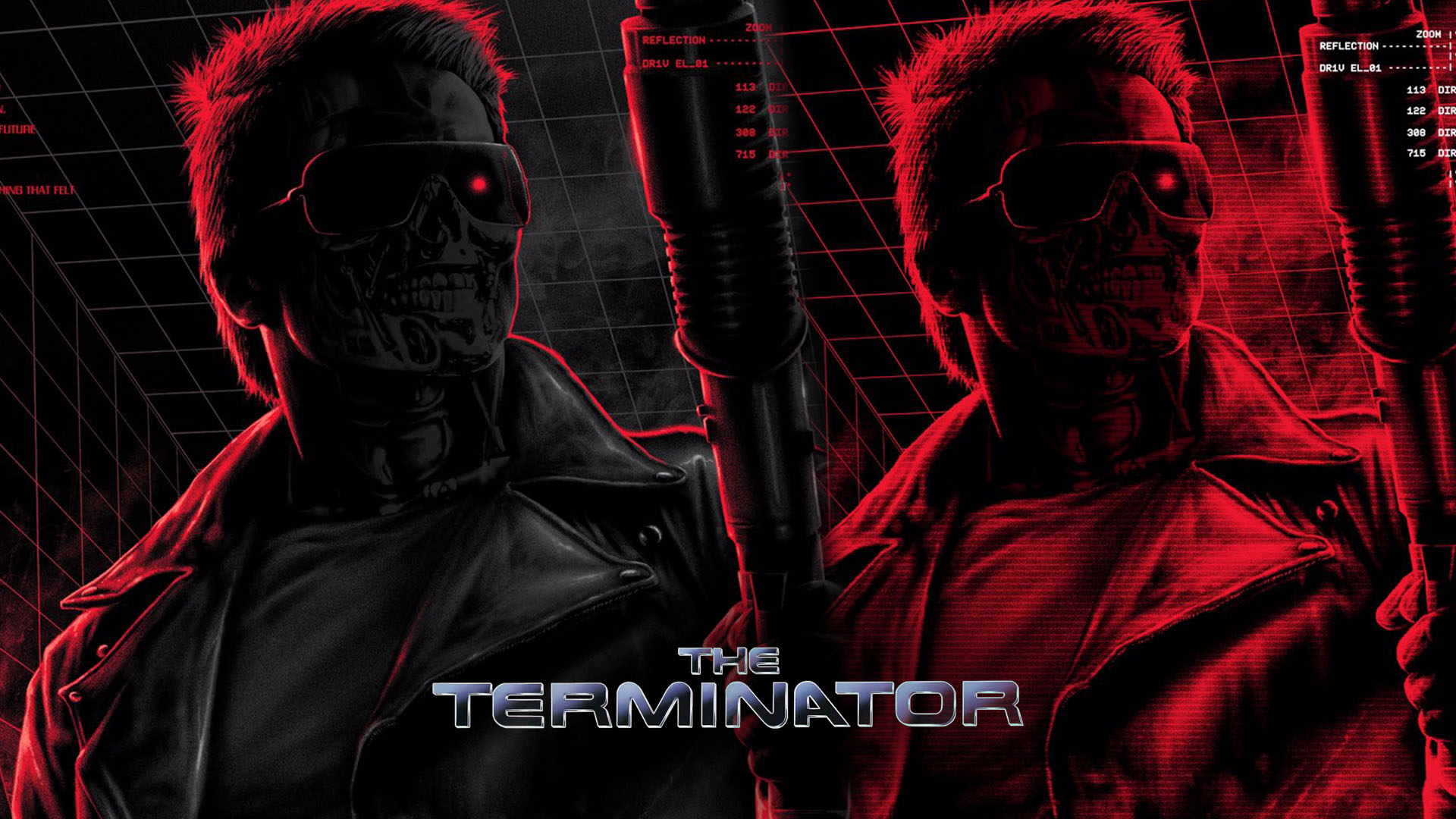 The Terminator Poster by Matt Ryan Tobin