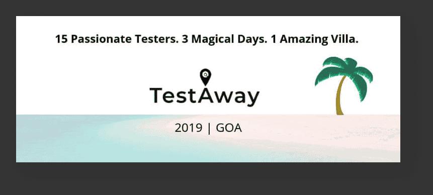TestAway Goa Event