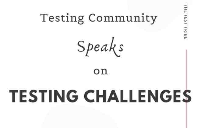 Software Testing Challenges crowdsourced
