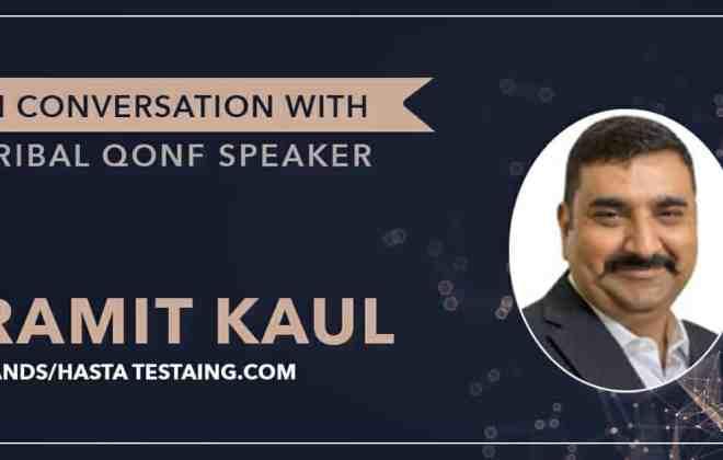 Tribal Qonf Ramit Kaul Interview