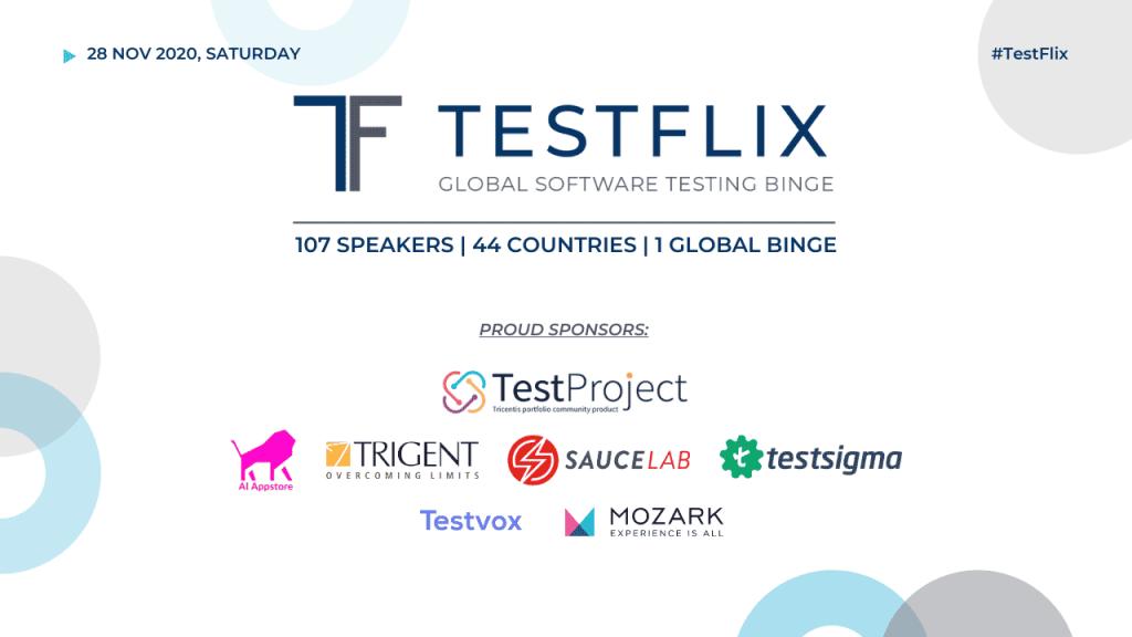 TestFlix 2020 Global Software Testing Binge