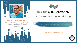 """Testing in DevOps"" with Soumya Mukherjee"