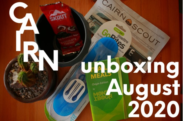 Cairn Unboxing: August 2020