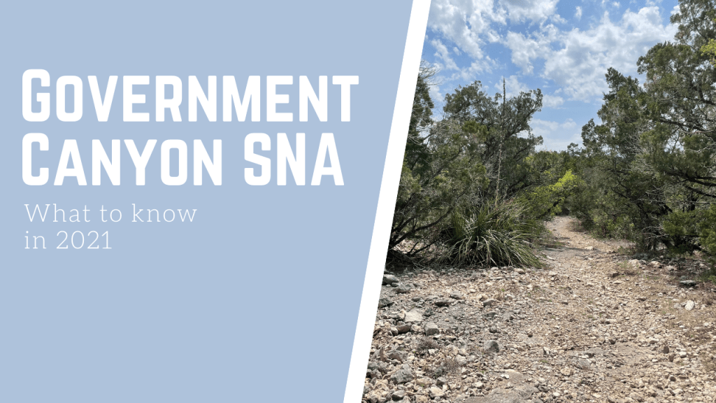 Hiking Government Canyon SNA in 2021
