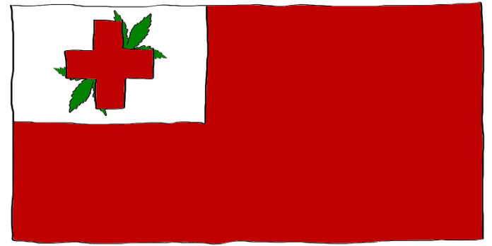 is weed legal in Tonga