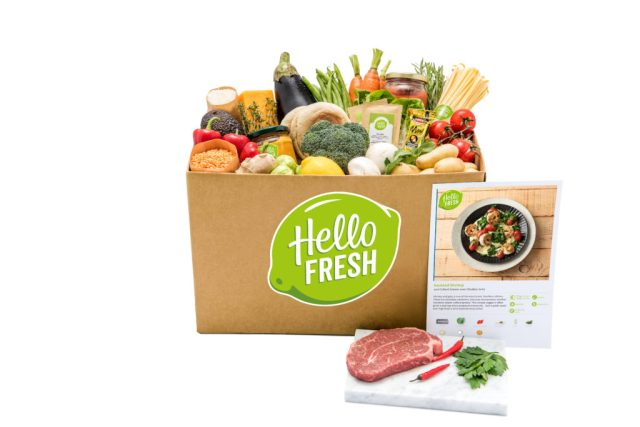 Hello Fresh Pronto Box