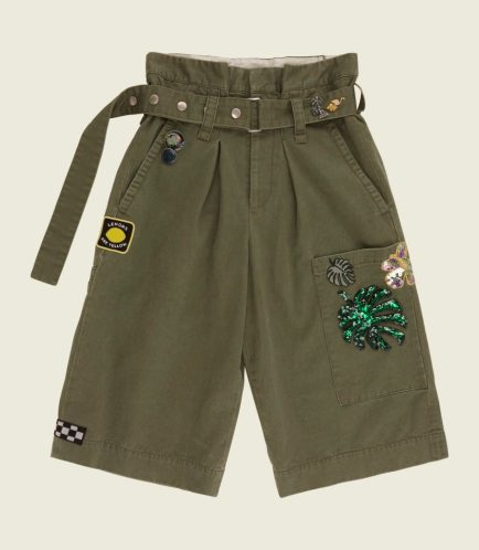 Marc Jacobs Embroidered Long Cargo Short