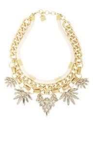BCBG Gold Stone Necklace