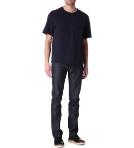 Acne Studios Men's Dark Roc Soft Raw Denim