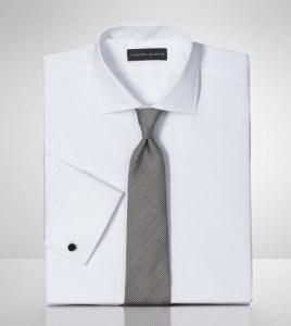 Ralph Lauren Black Label White Men's Dress Shirt