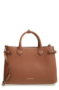 Burberry 'Medium Banner' Leather Tote $2,237.45