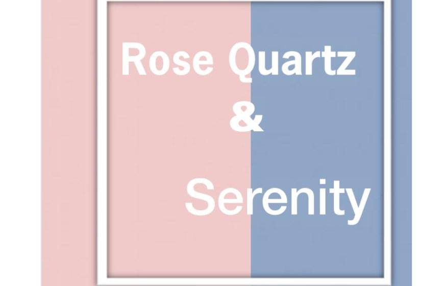 Rose Quartz and Serenity Blue Accessories