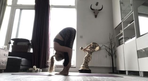 Forward Fold – Uttanasana Yoga For Fighters