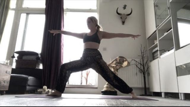 Warrior II – Virabhadrasana II Yoga for Fighters