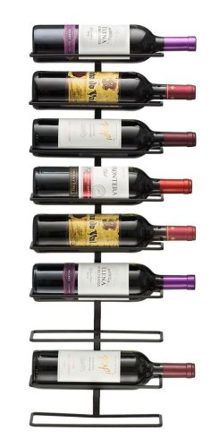 Sorbus Wall Mount 9 Bottle Wine Rack
