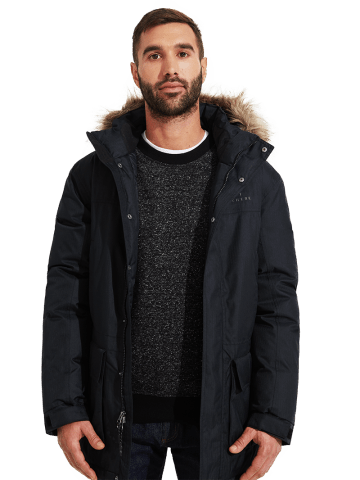 Live Out There Storm Mens Goose Down Parka Jacket