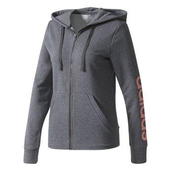 Adidas Women's Linear Full-Zip Hoodie