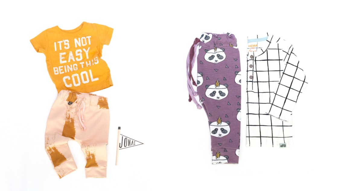 Favo broekjes en shirtjes: Little Jet & Sleep No More