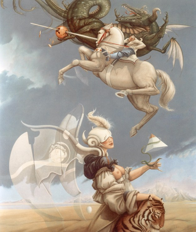 Battle of Mare Imbrium, courtesy of Michael Parkes
